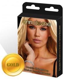 Браслет из золотистых кристаллов Stretch Tennis Bracelet
