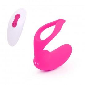 Ярко-розовый вибростимулятор для пары Danny